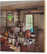 Pharmacy - Where I Make Medicine  Wood Print
