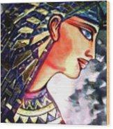 Pharoah Of Egypt Wood Print