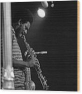 Pharoah Sanders 1 Wood Print