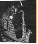 Pharoah Sanders 2 Wood Print
