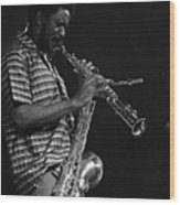 Pharoah Sanders 4 Wood Print