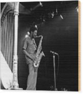 Pharoah Sanders 5 Wood Print