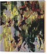 Pharrell Williams Paint Splats Wood Print