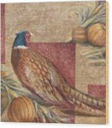 Pheasant I Wood Print