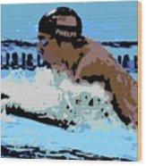 Phelps 2 Wood Print