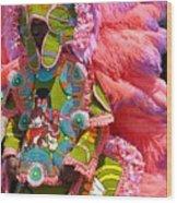Phenomenal In Pink Wood Print