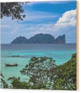 Phi Phi Islands Wood Print