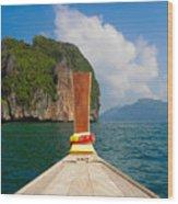 Phi Phi Leh Wood Print