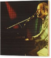 Phil Collins-0852 Wood Print