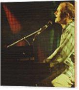 Phil Collins-0854 Wood Print