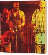 Phil Collins-0891 Wood Print