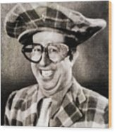 Phil Silvers, Comedy Legend Wood Print