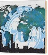 Philadelphia Basket In The World Wood Print