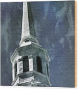 Philadelphia Christ Church Wood Print