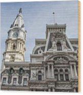 Philadelphia City Hall #2 Wood Print