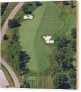 Philadelphia Cricket Club Militia Hill Golf Course 10th Hole Wood Print by Duncan Pearson