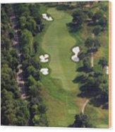 Philadelphia Cricket Club Militia Hill Golf Course 12th Hole Wood Print by Duncan Pearson