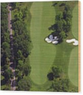 Philadelphia Cricket Club Militia Hill Golf Course 13th Hole Wood Print by Duncan Pearson