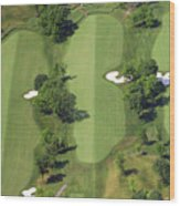 Philadelphia Cricket Club Militia Hill Golf Course 14th Hole Wood Print