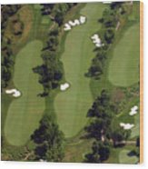 Philadelphia Cricket Club Militia Hill Golf Course 17th Hole Wood Print by Duncan Pearson