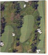 Philadelphia Cricket Club Militia Hill Golf Course 18th Hole Wood Print by Duncan Pearson