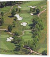 Philadelphia Cricket Club Militia Hill Golf Course 5th Hole Wood Print