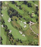 Philadelphia Cricket Club Militia Hill Golf Course 6th Hole 2 Wood Print by Duncan Pearson