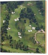 Philadelphia Cricket Club Militia Hill Golf Course 6th Hole Wood Print