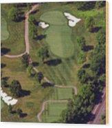 Philadelphia Cricket Club Militia Hill Golf Course 9th Hole Wood Print