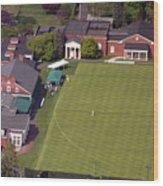 Philadelphia Cricket Club Squash Wood Print