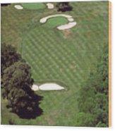 Philadelphia Cricket Club St Martins Golf Course 2nd Hole 415 W Willow Grove Ave Phila Pa 19118 Wood Print