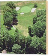Philadelphia Cricket Club St Martins Golf Course 5th Hole 415 W Willow Grove Ave Phila Pa 19118 Wood Print