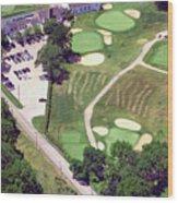 Philadelphia Cricket Club Wissahickon Golf Course 10th Hole Wood Print by Duncan Pearson