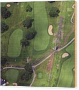 Philadelphia Cricket Club Wissahickon Golf Course 11th Hole Wood Print by Duncan Pearson