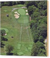 Philadelphia Cricket Club Wissahickon Golf Course 15th Hole Wood Print by Duncan Pearson