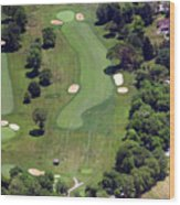 Philadelphia Cricket Club Wissahickon Golf Course 16th Hole Wood Print by Duncan Pearson
