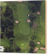 Philadelphia Cricket Club Wissahickon Golf Course 5th Hole Wood Print