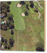 Philadelphia Cricket Club Wissahickon Golf Course 6th Hole Wood Print by Duncan Pearson