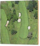 Philadelphia Cricket Club Wissahickon Golf Course 7th Hole Wood Print by Duncan Pearson