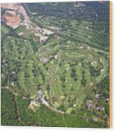 Philadelphia Cricket Club Wissahickon Golf Course Flourtown Wood Print