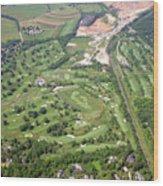 Philadelphia Cricket Club Wissahickon Militia Hill Golf Courses Wood Print by Duncan Pearson
