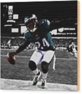 Philadelphia Eagles 5a Wood Print