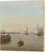 Philadelphia Harbor Wood Print