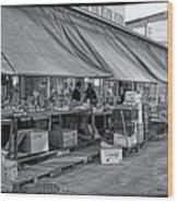 Philadelphia Italian Market 3 Wood Print