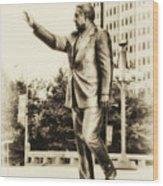 Philadelphia Mayor - Frank Rizzo Wood Print