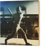 Philadelphia Phillie Mike Schmidt Wood Print