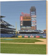 Philadelphia Phillies Stadium  Wood Print by Brynn Ditsche