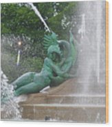 Philadelphia - Swann Memorial Fountain - Logan Square Wood Print