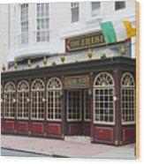 Philadelphia's Famous Irish Pub Wood Print