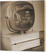 Philco Television  Wood Print